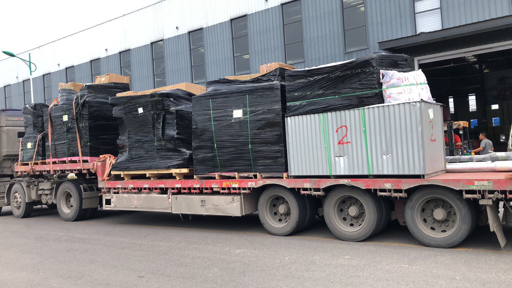 Construction Equipment Spare Parts Exported To Southeast Asia