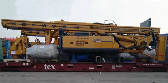 2 Units of XCMG Rotary Drilling Rig XR150-III To Southeast Asia
