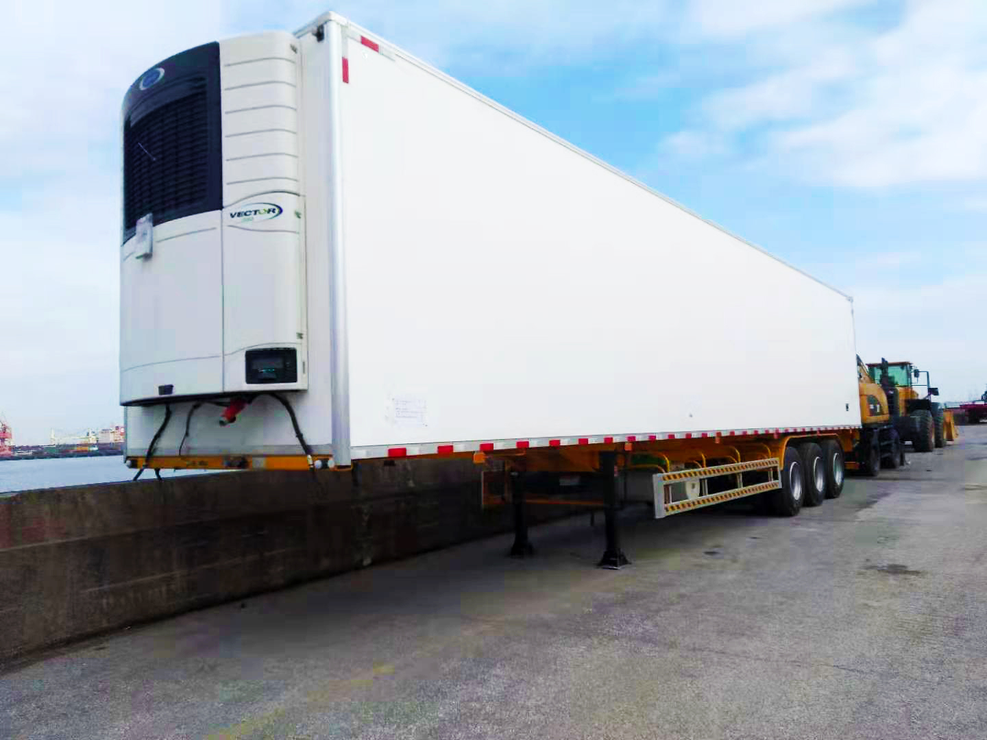 3 Units of Refrigerated Trailer to Southeast Asia
