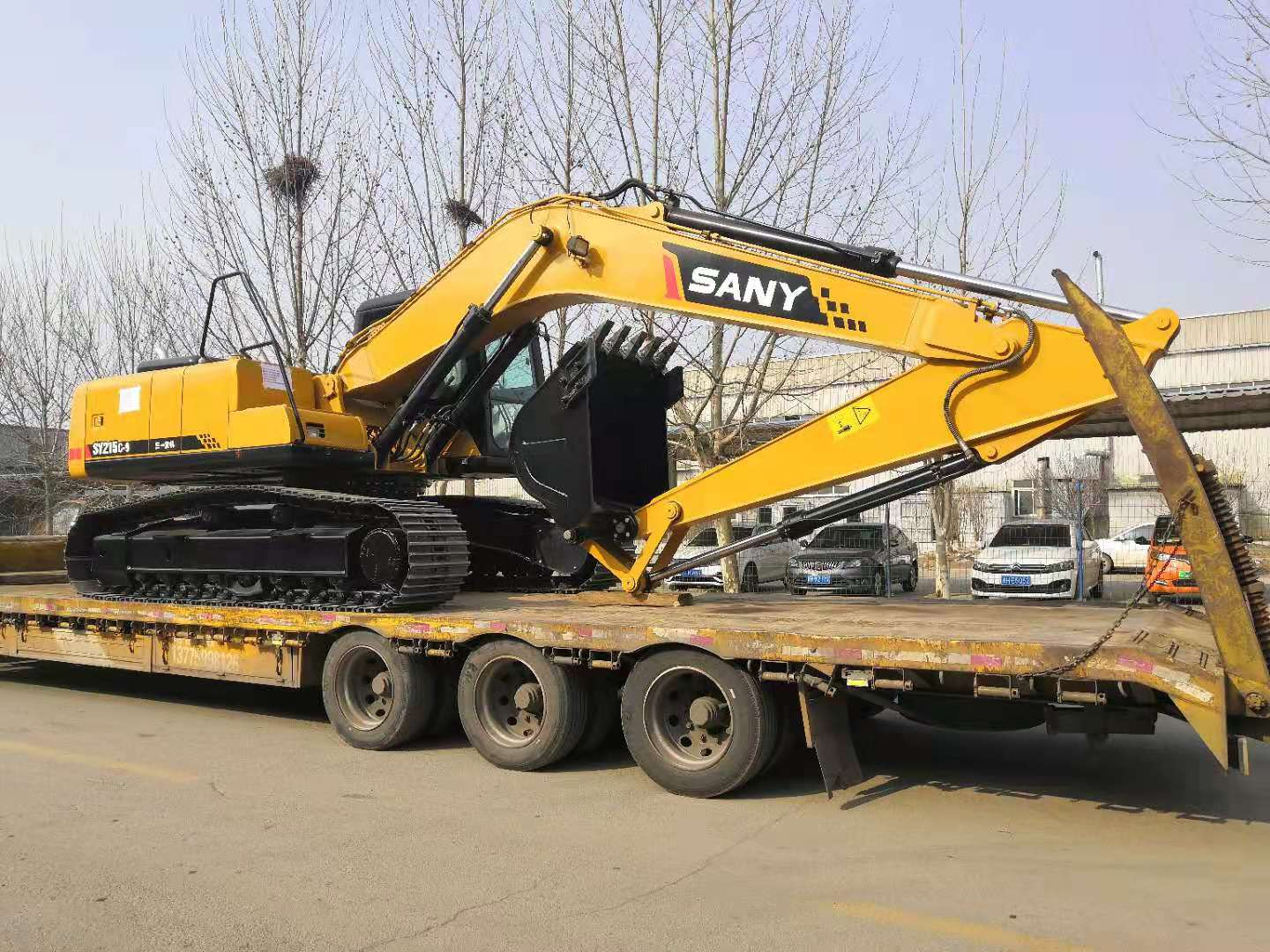 1 Unit of SANY Excavator SY215C-9 to Africa