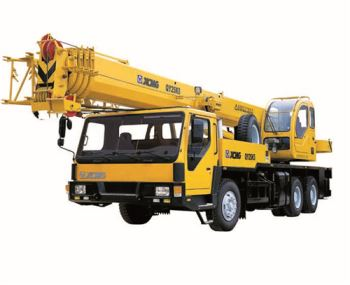 25ton Mobile Lorry Boom Truck Crane Load Chart