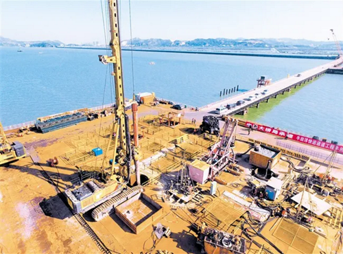 XCMG Rotary Drilling Rigs Participate In Another Millennium Project