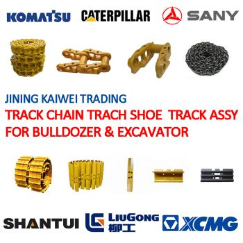 CAT KOMATSU VOLVO SHANTUI Track Link Trach Chain Trach Shoe Track Group